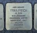 Stolperstein für Erika Frisch, Wiesenstraße 10, Chemnitz.JPG