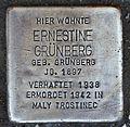 Stolperstein für Ernestine Grünberg.JPG