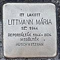 Stolperstein für Maria Littmann (Miskolc).jpg