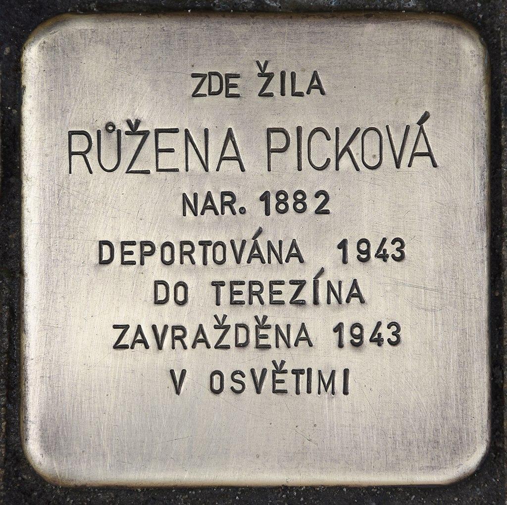 Stolperstein für Ruzena Pickova.jpg