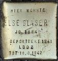 Stolpersteine Köln, Else Glaser (Aachener Straße 28).jpg