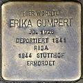 Stolpersteine Köln, Erika Gumpert (Berrenrather Straße 383).jpg