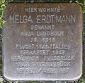 Stolpersteine Krefeld, Helga Erdtmann (Uerdinger Straße 1).jpg