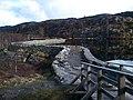 Storevatnet på Sandviksfjellet, ved demningen ovenfor Stoltzekleiven.jpg