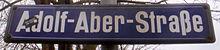 Straßenschild der Ausfallstraße nach Jena (Quelle: Wikimedia)