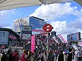 Stratford shopping and Olympic crowds (7721537582).jpg