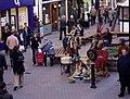 Street entertainment, Chester - geograph.org.uk - 292480.jpg
