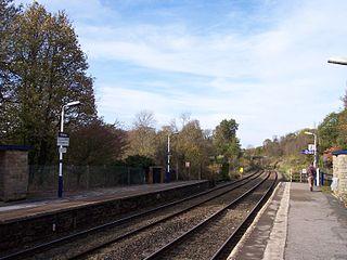 Strines railway station English railway station