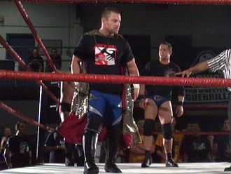 No Remorse Corps - (Left to right) Davey Richards and Roderick Strong, two thirds of the No Remorse Corps