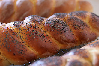 Strucia -- a type of European sweet bread Strucla sweet bread02.jpg