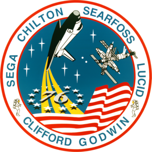 Michael R. Clifford - Image: Sts 76 patch