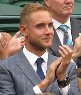 Stuart Broad English cricketer