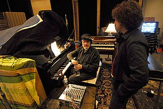 Anthony Marinelli and Dr. John composing music for My Sexiest Year (2007)