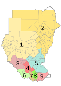 Sudan RC Church diocese district map 2007.svg
