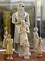 Sumerian Statues from Eshnunna and Khafajah of Diyala region, Iraq Museum.jpg