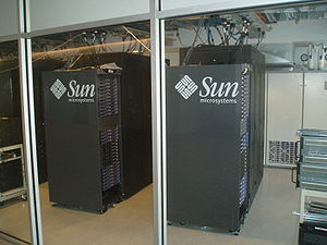 Sun Microsystems - Sun server racks at Seneca College (York Campus)