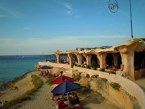 Sunset Ashram beach Bar, Cala Conta Tuesday 29 May 2012