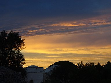 Sunset near Ostuni, Italy.jpg