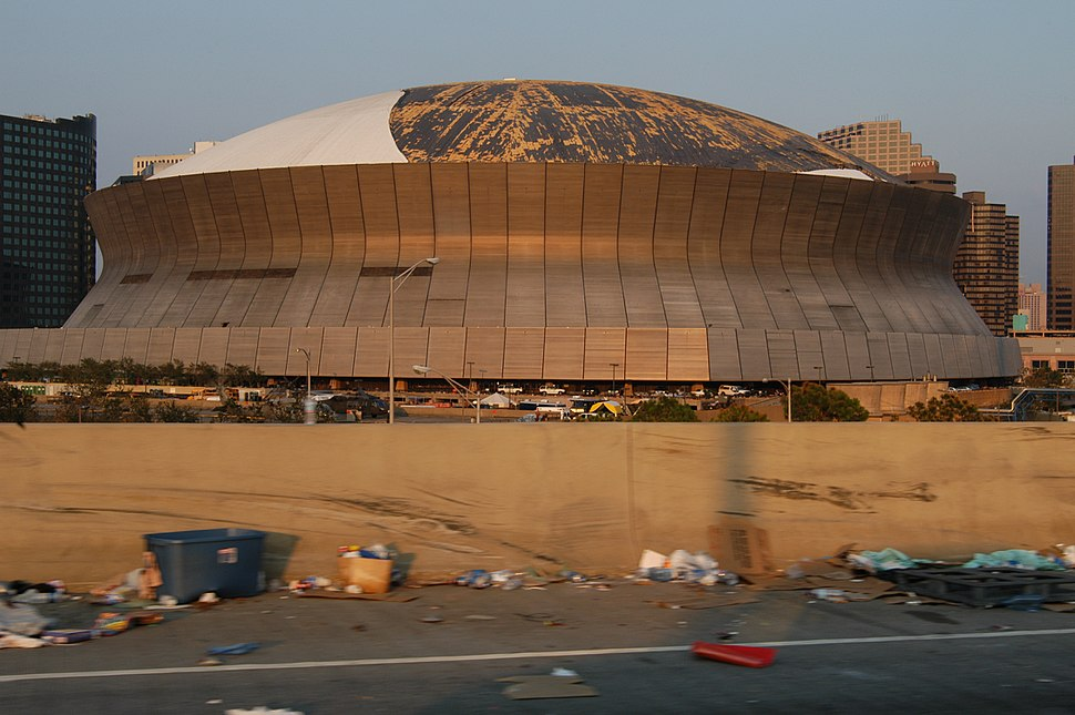 Superdome Roof Damage FEMA