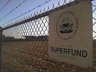 Franklin, Milwaukee County, Wisconsin - Fadrowski Drum Disposal EPA Superfund Site with Dental Associates facility in background