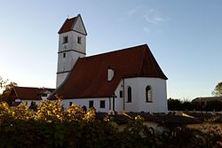 Saint Stephen Church in Surheim