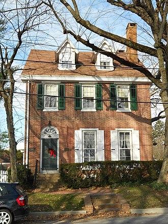 Sutton House (St. Georges, Delaware) - Sutton House, December 2011