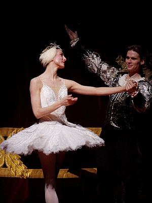 Swan Lake ballet at London's Royal Opera House...