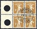 Switzerland 1909 2c type I Zs117 B4.jpg