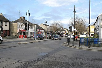 Swords, Dublin - Swords Main Street at Malahide Road junction