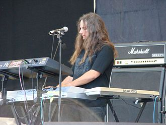 Michael Pinnella - Pinnella performing in Novara, 2007