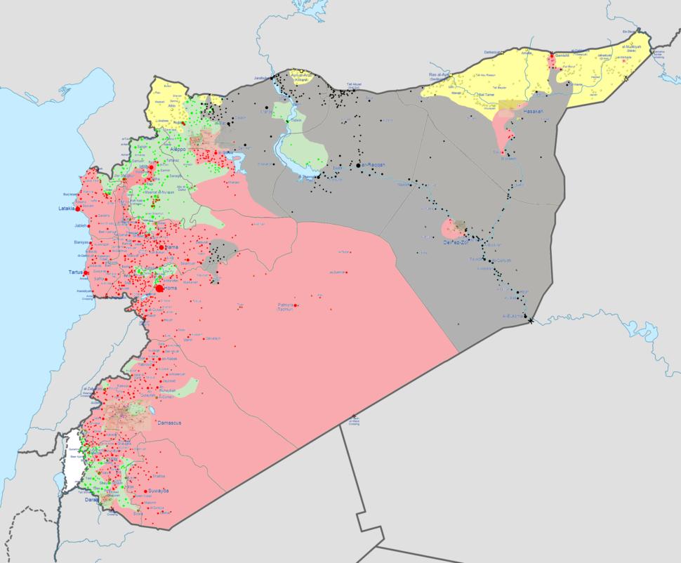 Syrian civil war september 2014