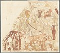 Syrians Bringing an Elephant and a Bear, Tomb of Rekhmire MET DP161256.jpg
