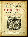 Szathmárnémeti - Epistola S Pauli - 1695 - Universiteitsbibliotheek VU XI.06737.JPG