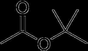Tert-Butyl acetate - Image: T butyl acetate