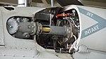 T700-IHI-401C2 turboshaft Engine air intake of JMSDF SH-60K(8430) left front view at Maizuru Air Station July 29, 2017.jpg