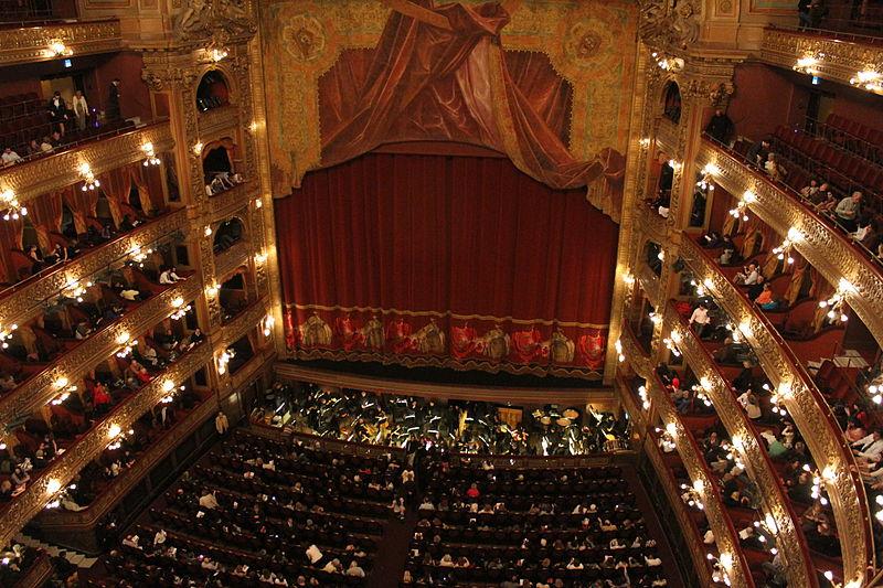 Teatros famosos de Buenos Aires