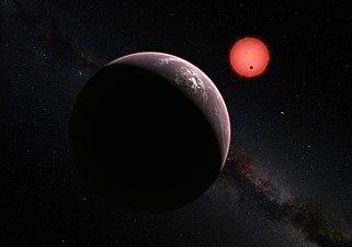 Three Planets Orbiting Trappist 1 Artist S Impression