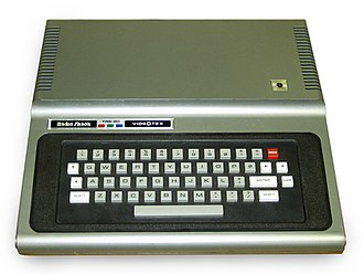 TRS-80 Color Computer - The TRS-80 VideoTex Terminal, circa 1980