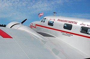 Trans World Airlines - Experimental TWA test aircraft