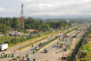 Tagum Component City in Davao Region, Philippines