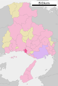 Takasago in Hyogo Prefecture Ja.svg