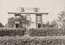 Photo of Talland House, St Ives during period when the Stephen family leased it