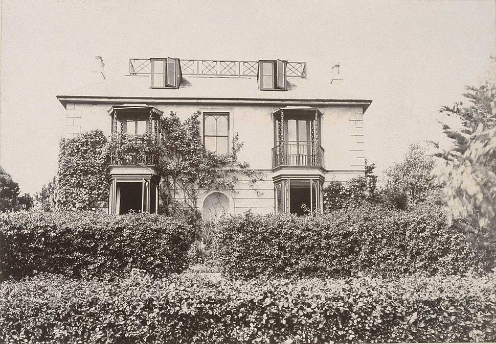 Photo of Talland House, St. Ives during period when the Stephen family leased it