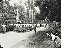 Tamasese funeral - Samoa 1930 - to the right is Faumuina chief with single stripe - AJ Tattersall.jpg