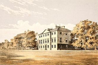 Tarbat House - Tarbat House in an illustration published in 1876