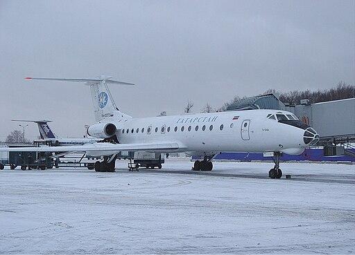 Tatarstan Airlines Tupolev Tu-134