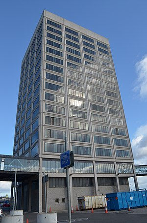 Tayside House - Image: Tayside House 2011 West Facing (original version)