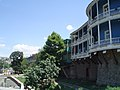 Tbilisi, Georgia Old Town. House built on top of the city wall 1.jpg