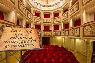 Teatro della Concordia (Monte Castello di Vibio, Italy) - Image: Teatro della Concordia Monte Castello di Vibio Civiltà