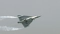 Tejas flying low at Aero India 2013.jpg